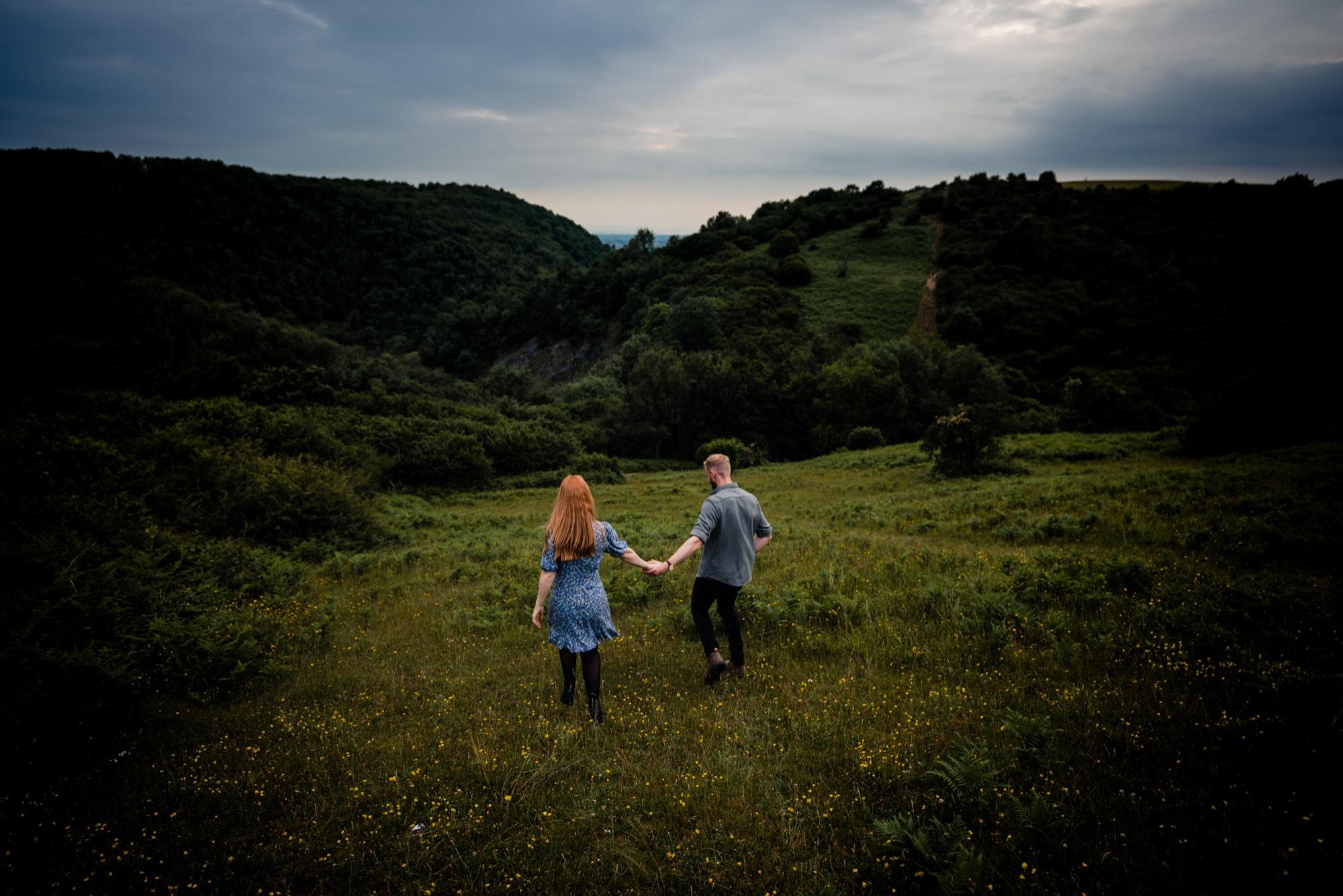 Cheddar Gorge Engagement